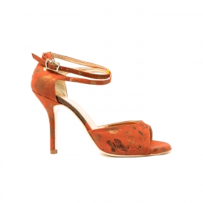 Regina California Orange Shoe-1
