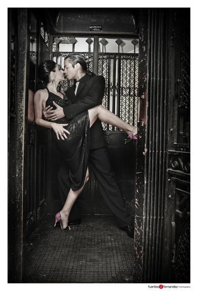 Yuliana & Brian at Elevator